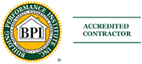 Building Performance Institute Accredited Contractor Logo